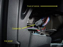 location  brake controller connector    land