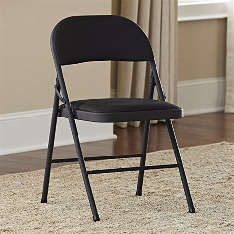 cosco cushioned folding chair 1 1 2 quot sand polyethylene
