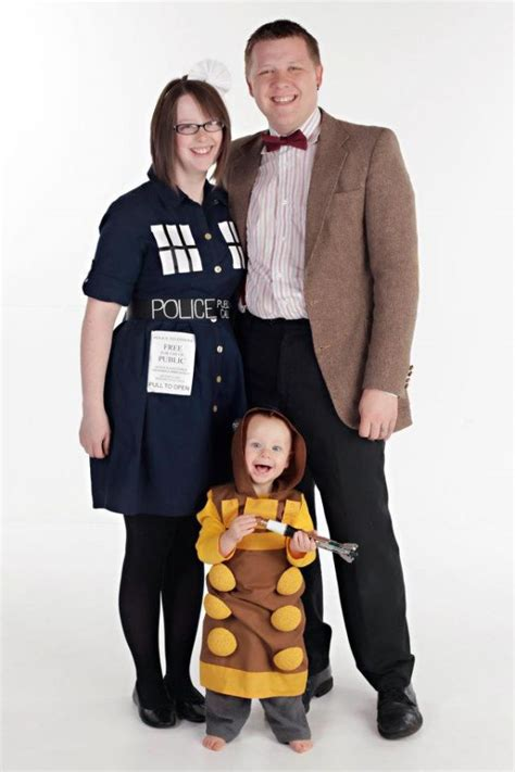 20 amazing and geeky matching parent child halloween