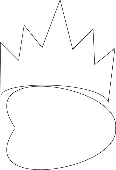 evil queen mask template   tidytemplates