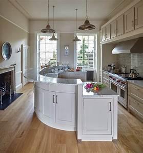 Cuisine Avec Ilot : cuisine cuisine avec ilot central table avec blanc ~ Melissatoandfro.com Idées de Décoration