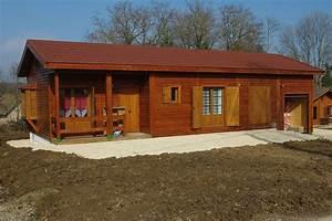 Maison Modulaire Bois : maison modulaire en bois moncey france ~ Melissatoandfro.com Idées de Décoration