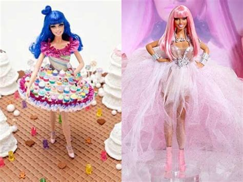 Home Decor Books India by Katy Perry And Nicki Minaj Barbie Dolls For A Charity