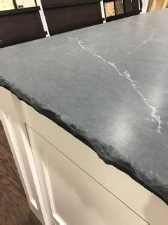 silestone quartz soapstone charcoal rustic kitchen