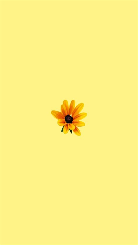 Aesthetic Yellow Flowers Wallpaper Iphone by Yellow Wallpaper Aesthetic In 2019 Pastel Wallpaper