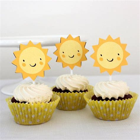 The 25+ Best Ideas About Sunshine Cupcakes On Pinterest