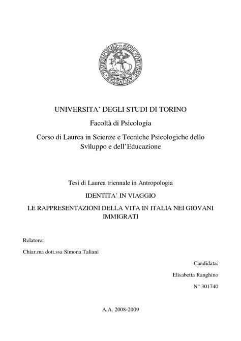 Scienze E Tecniche Psicologiche Pavia by Universita Degli Studi Di Torino Facolt 224 Di Psicologia