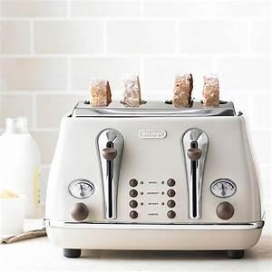 Toaster Retro Design : delonghi icona vintage kettle toaster set cream kbov3001bg ctov4003bg retro set beige ~ Frokenaadalensverden.com Haus und Dekorationen