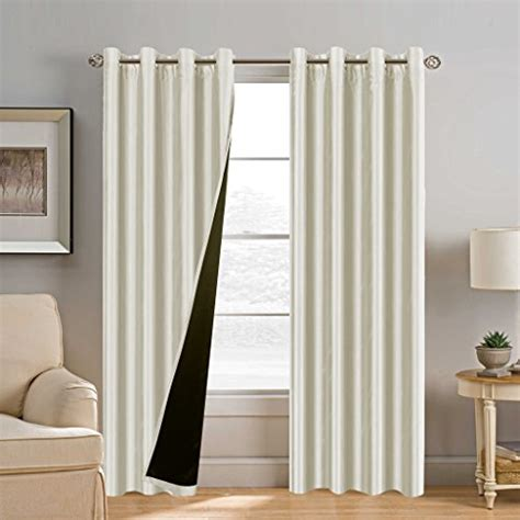 108 inch blackout curtain liner h versailtex 100 blackout 2 layers curtains luxury and