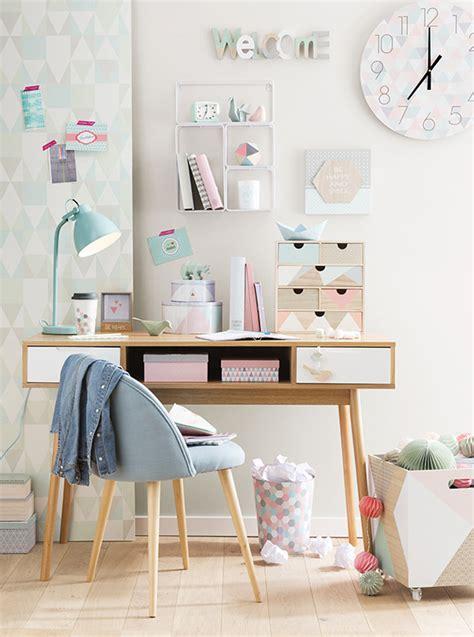 les meilleurs couleurs pour une chambre a coucher une déco de bureau girly en cuivre chez maisons du