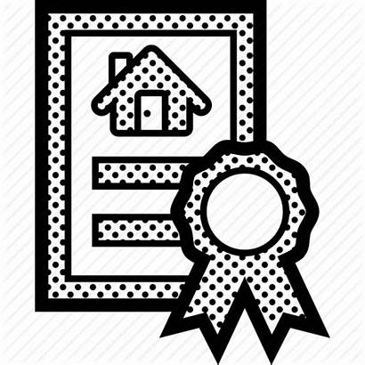 Paper Deed Legal Property Owner State Icon