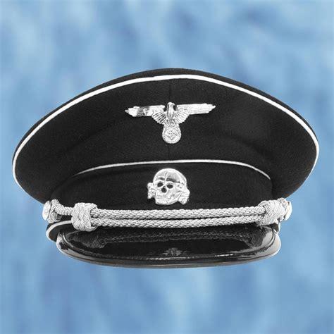 german wwii reproduction ss death head visor cap atlanta