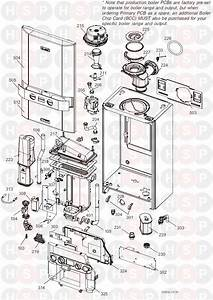 Ideal Logic Heat 30  Boiler Exploded View  Diagram