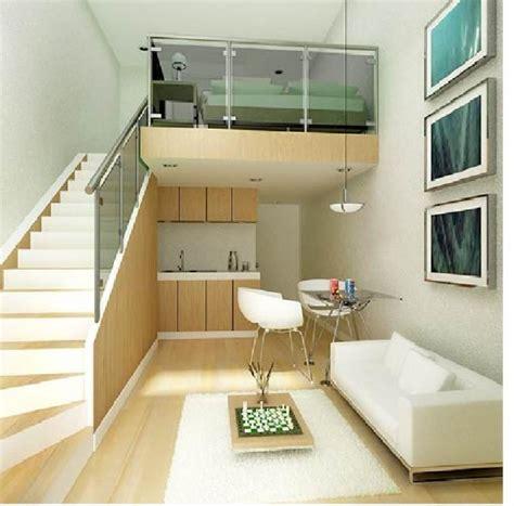 Home Design Interior Monnie Small Condo With Loft Bed