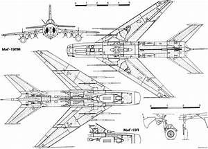 Mikoyan Gurevich Mig119 Plans