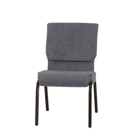 hercules series 18 5 w stacking church chair in gray