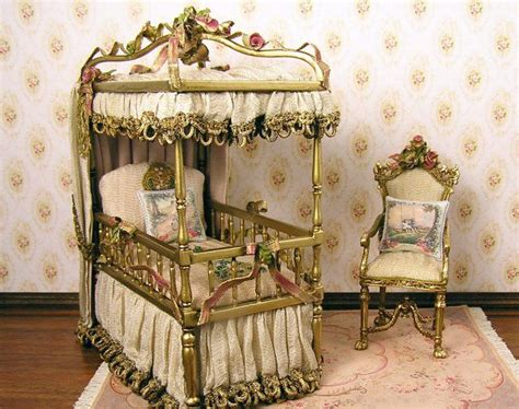 Children's Corner. Princess Canopy Crib With Ruby Pink