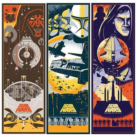 @bottleneckgallery is releasing #starwars prequel prints ...