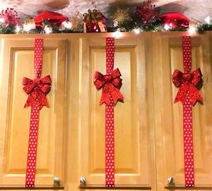 60 of the best diy christmas decorations kitchen fun With what kind of paint to use on kitchen cabinets for how to decorate glass candle holders