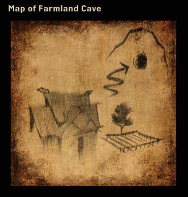 codex entry map  farmland cave dragon age wiki