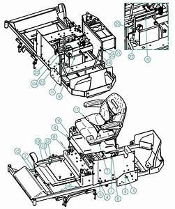 Dixie Chopper 2014 Zee 2 Mower Body Cont  Parts