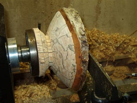 woodturning intermediate project endgrain natural edged
