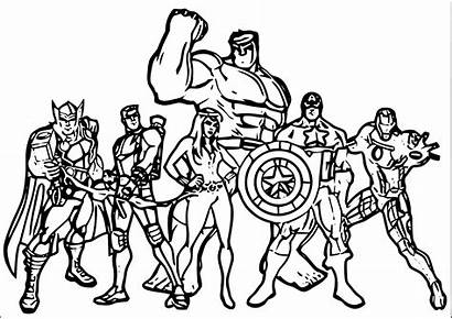 Coloring Pages Marvel Lego Printable Sheets Avengers