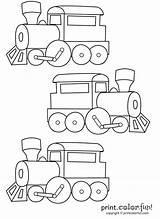 Coloring Trains Pages Train Three Printables Printable Cards Crafts Railroad Transportation Colouring Choo Preschool Cool Fun Cartoon Thomas Birthday Puzzles sketch template