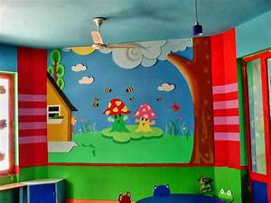 Catchy Collections of Kindergarten School Wall Decoration ...