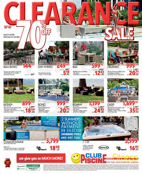 club piscine clearance 70 allsales ca