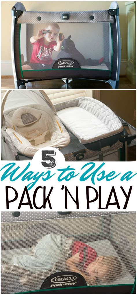 5 Ways To Use A Pack 'n Play  A Mom's Take