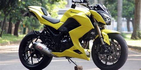 Harga Kawasaki Z250 Mofif by Kawasaki Z250 Bekas Kecelakaan Makin Kekar