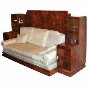 convertible sofa bed with built in night stands and With built in sofa bed