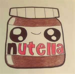 kawaii nutella drawing dibujos nutella drawings and kawaii