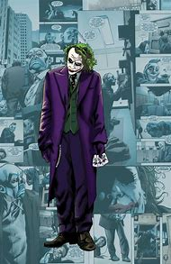 Joker Dark Knight Comics