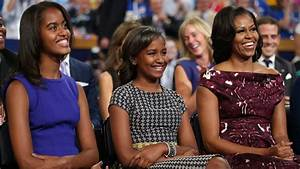 Michelle Obama reveals how daughters Malia and Sasha spent ...