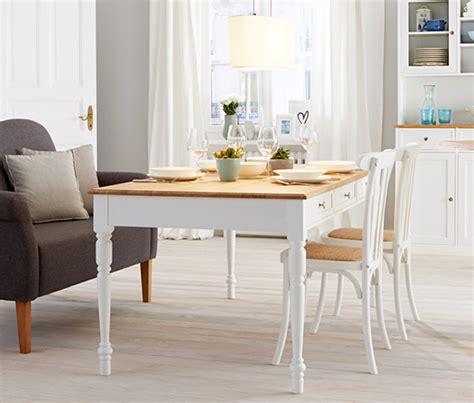 esstisch 4 stühle esstisch mit schubladen ca 180 x 90 cm bestellen bei tchibo 351372