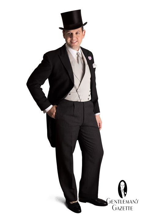 morning dress dress code gentlemans gazette