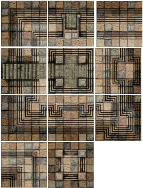 dungeons and dragons tiles dundjinni mapping software forums 6x6 dungeon tile set