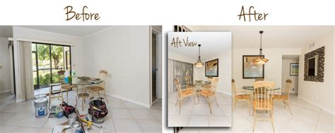 Interior Redesign Before & After — Captiva Design