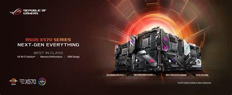x570 rog gaming motherboard atx asus prime strix pcie amd wi usb fi am4 crosshair viii ryzen gen dual hero