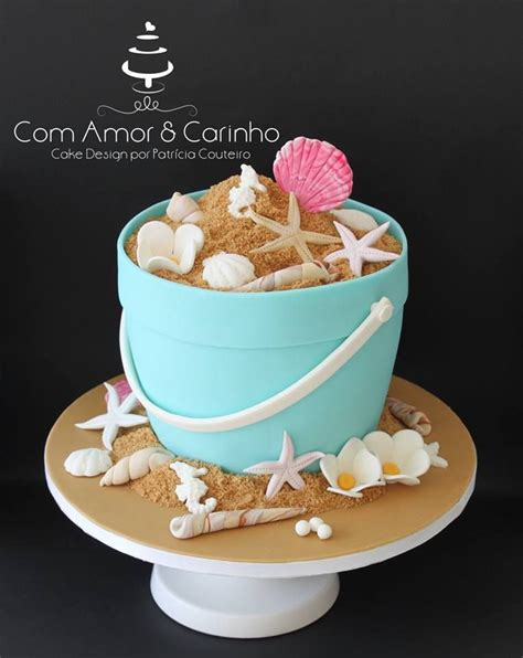bolo  quase verao cakes bolos de aniversario praia