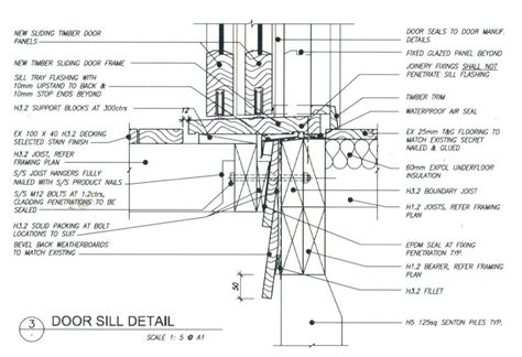 Joinery Cross Sections & Flashing Details   Westpine Joinery