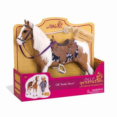 Horse Stable Ogdolls Generation Toy Accessories Brown