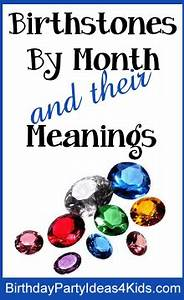 Birthstone color, gemstones and meanings for Birthstones