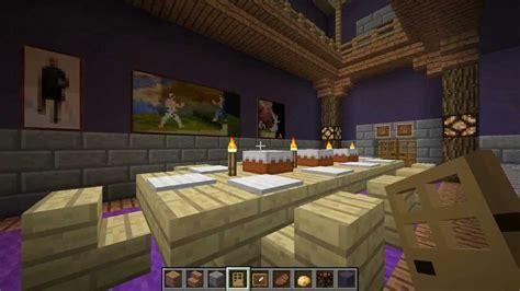 minecraft le manoir de la locky inc 2 la salle 224 manger