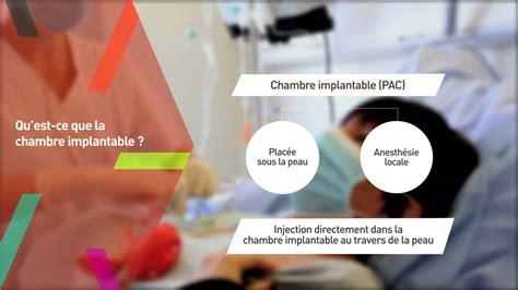chambre d implantation pour chimio chambre implantable chimio la chimiothrapie classique