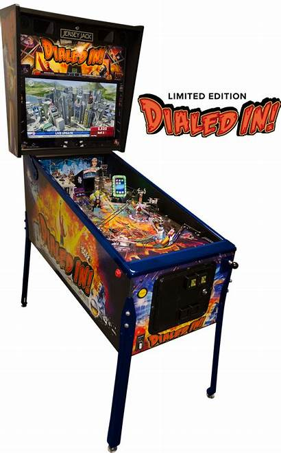 Dialed Pinball Edition Machine Limited Collectors Machines