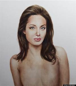Artist Paints Post-Mastectomy Angelina Jolie Topless ...