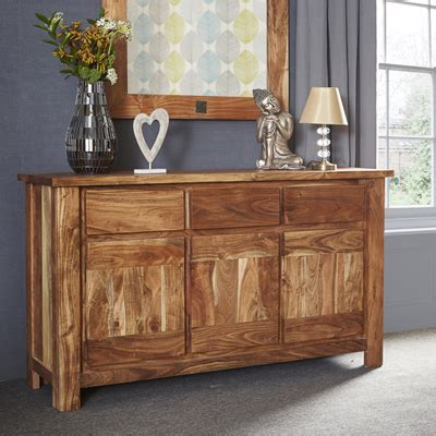 Acacia Sideboard by Metric Indian Acacia 3 Door Sideboard Robson Furniture